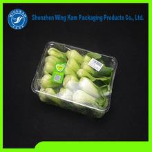 Caixa de contêiner garra para frutas e hortaliças