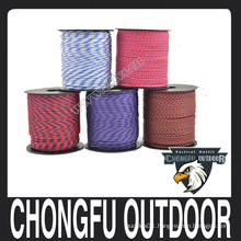 HOT! wholesale alibaba survival 2mm Paracord for outdoor hiking and camping