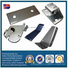Pieza de maquinaria de punzonado de acero al carbono para dispositivos electrónicos