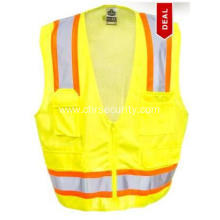 Unisex  High Visibility Surveyors Safety Vest