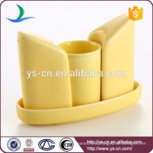 Coctelera y taza de cerámica de encargo del nuevo diseño para la cocina