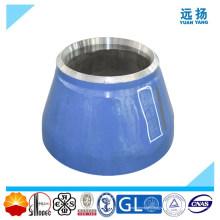 Réducteur concentrique en acier allié soudé à la butte haute qualité