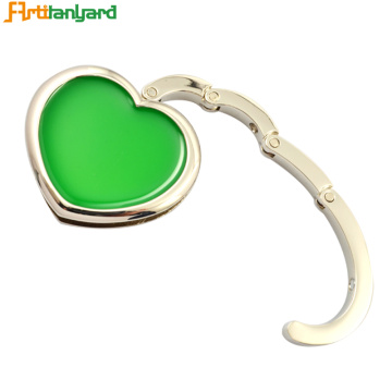 Heart Shape Die Casting Bag Hanger