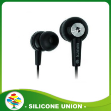 Healthy silicone earphone set for mobile phone