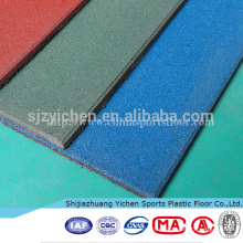 Indoor gym/outdoor playground high density rubber mats