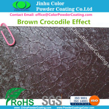 Outdoor use Crocodile Textured Powder Coating