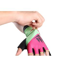 Half Finger Colorful Gloves Adults
