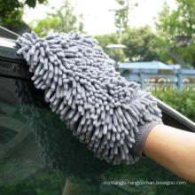 Super water absorption micro fiber chenille car glove
