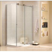 Australian Standard Modern Design Bathroom Tempered Glass Shower Cabin (R3)