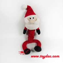 Plush Christmas Pet Toy Santa