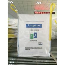 pp fibc 1000kg big bag for calcium carbonate hebei manufacture