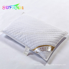 Buckwheat pillow/China supplier pure organic buckwheat pillow with piping for hotel/home use