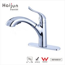 Haijun 2017 New Arrivals Single Handle Bathroom Sink Basin Brass Faucets