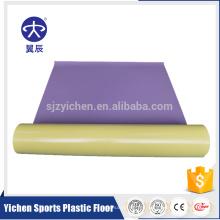 Suelo transparente del vinilo del suelo del PVC de la capa ULTRAVIOLETA