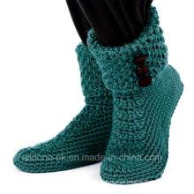 Botas de crochet a mano personalizadas Calcetines Zapatos Botines Zapatillas Zapatillas Sandalias