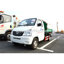 Venta caliente barato China contenedor camión de basura con faw chasis
