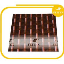 Brocart textile matériel africain de tissu de broderie d'Abaya de Bazin pour la noce Feitex