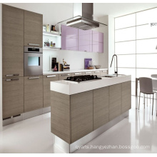 2016 Modern Painting Modular Solid Wooden Kitchen Cabinet