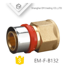 EM-F-B132 Single head Press fitting for multilayer pipe quick connect pipe