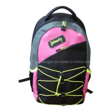 600d Polyester Batminton Sports Backpack with Neon Trims
