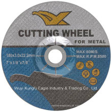 Discos de corte abrasivos e rodas para moagem de metal
