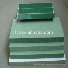 green color waterproof mdf board