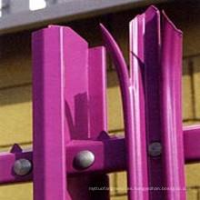 HDG Ángulo Palisade valla de acero para la seguridad