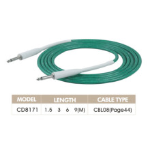 Green Color Audio Link Cable
