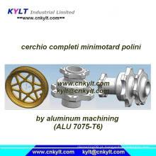 Alumínio Cerchio Completi Minimotard Polini (Mini roda da motocicleta)