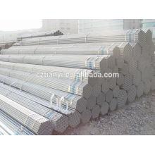 Q235 Hot-Dip Galvanizado Tubo de aço carbono Fabricante China