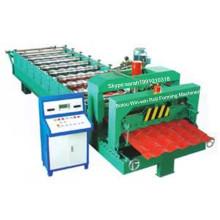 Máquina formadora de rollos de acero galvanizado