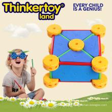 Brinquedo educativo para crianças em espuma geométrica