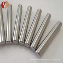 Barre / barre de tungstène pure polie
