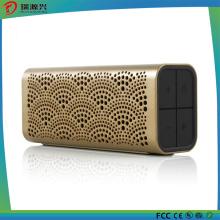 Portable Waterproof Wireless Bluetooth Speaker -Gold