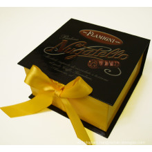 Gift Box with Ribbon for Packaging and Collection