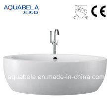 Wide Rim Europäische Standard Acryl Freistehende Badewanne