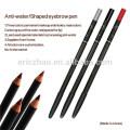 Lápis de design impermeável para sobrancelha e lábio lápis de maquiagem permanente