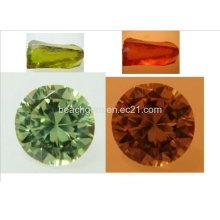Pedras preciosas-cor mudança Cubic Zirconia