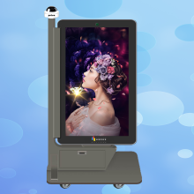 P5 Led Outdoor Mobile Kiosk per schermi