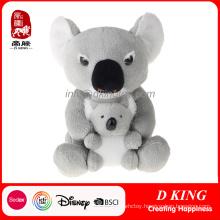 Custom Two Plush Soft Stuffed Koala Toys for Kids
