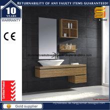 Moderne MDF-Badezimmer-Waschtisch-Kombination für Wandmontage