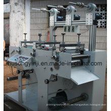 Máquina de corte rotativa de 3 estaciones de Roll to Roll