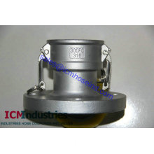 Flanged camlock coupling  Female Coupler x150# flange drilling (FC)/Male Adaptor x150# flange drilling (FA)