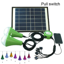 High quality solar home lighting kit, solar home light with 2bulbs