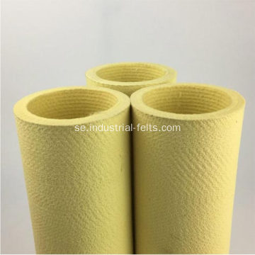 Kevlar Endless Needled Rollers Filt for Aluminium Extrusion