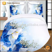 3D Blue rose floral bedding set queen s sets bedclothes bed linen sheet duvet quilt cover bedsheet flower