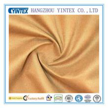 Twill de tissu de coton teint en coton satiné Yintex 100% coton 2016