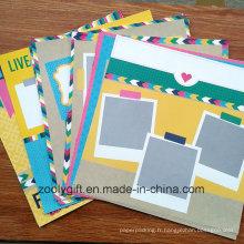 Love Life Design 12 X 12 Scrapbook Album Album de papier décoré de 18