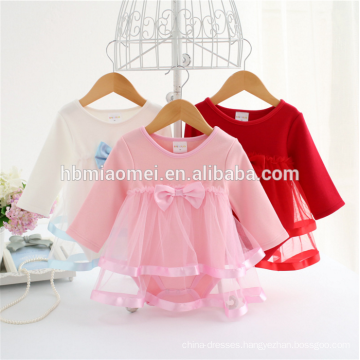Custom brand baby clothes romper baby girl clothes long sleeve cotton kids romper for infant