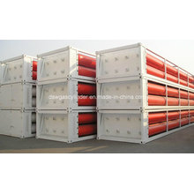 8 Gas Hydrogen (GH2) Tube-Bundle Containers